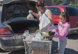 Monthly Donations to the Food Bank for Larimer County