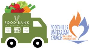 Foothills Unitarian Church mobile food pantry