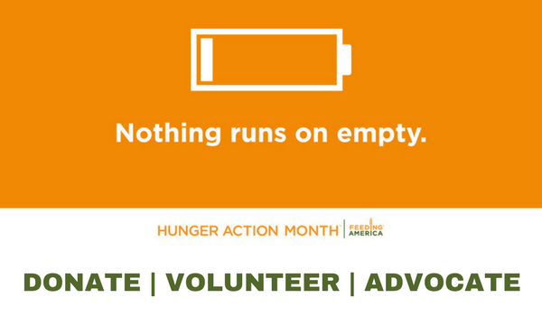 Hunger Action Month 2017