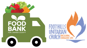 Foothills Unitarian Church mobile pantry