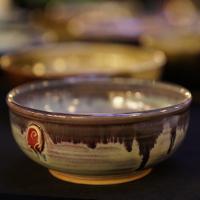 Empty Bowls handmade bowl.