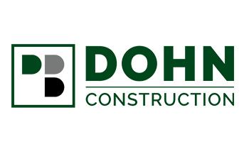 Dohn Construction logo.