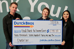Food Bank fundraiser - Dutch Bros