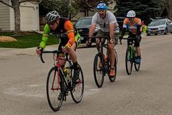 Food Bank fundraiser - Bike race.