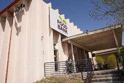 Food Bank exterior.